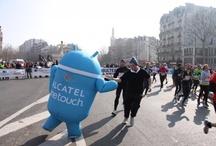 Il court, il court, Semi Marathon de Paris 2013 / Pour la première année, ALCATEL ONE TOUCH s'associe, en tant que Fournisseur Officiel, au semi-marathon de Paris, la 2e course la plus populaire en France après le Marathon de Paris. / by ALCATEL ONETOUCH FRANCE