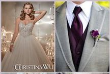 Groom Ideas from Christina Wu / Christina Wu creates a dress for every dream.  www.houseofwu.com / by House of Wu
