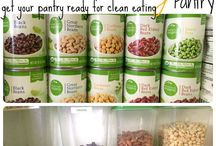 31 Day Clean Eating Challenge. Learn all about how to eat clean. Organize your pantry and fridge to make sure you are eating clean. / Learn how to start clean eating with creating a clean eating fridge, clean eating pantry and clean eating recipes.