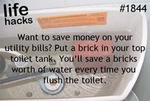 DIY / Do It Yourself ideas and projects to help save water