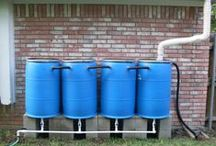 Rain harvesting / Interested in harvesting your own water? We can help you!