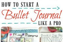 Bullet Journal / Best of Bullet Journaling. See the best ideas for your Bullet Journal and learn how to start one. Bujo Planning, organizing, life planner, planner addict, Bullet Journal.