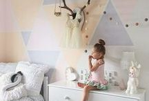 Kids' Quarters / Inspiration for nurseries and kids rooms / by Make it Blissful