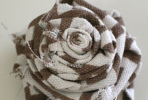Fabric Flowers / by Carla Clements