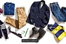 Menswear  / by Kristian Laliberte