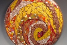 Mosaic Art / Love mosaic it adds color and beauty!  / by Lilly Gonzalez