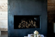 Firepits n Fireplaces / It's all about the warmth and coziness....both outside and inside. / by Laura Wallace