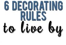 Designer Decorating Notes / Great ideas from furniture placement in a large space to make cozy to decorating table vignettes. / by Laura Wallace