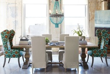 Dining Spaces / Formal, informal, al fresco, kitchen, dining room, nook, beach or park - if you set up the area to eat, this is what I call Dining Spaces.  / by Laura Wallace