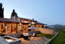 Celebrity/Jetsetter Life / These celebrity and entertainer homes are pinned for the curious and they are for sale - prices are not listed, but obviously they will be in the millions! / by Laura Wallace