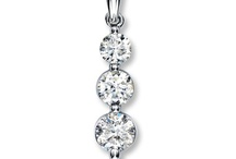 Diamond Pendants & Necklaces / by Laura Wallace