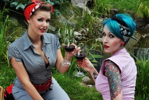 Rockabilly Fashion / Rockabilly, modern vintage style pinups and Clothing Fashions / by Fontaine Lane