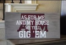 Gig 'Em Aggies / by Carla Clements