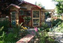 Garden Cottages & Tiny Houses / They're so cute! / by Laura Wallace