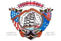 Indelible - inspired by tattoo art group exhibition / by Lord Coconut