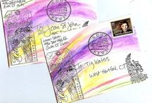 Altered Envelopes, Mail Art & Snail Mail  / Envelopes All Crafted Up. / by Jennifer Colgan