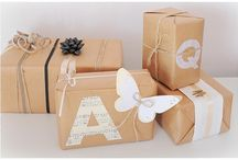 Paper: Gift Wrapping / Free Wrapping Paper & Packaging Ideas  / by Jennifer Colgan