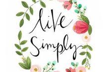 SIMPLIFY: 2015 One Little Word / by Jaclyn Fairchild