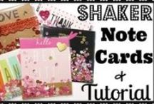 Shaker Cards & Tutorials! / My collection of sequin shaker projects including cards, DIY planner inserts, shaker gift card holders etc...along with tips, tricks and tutorials on how to create shaker projects without using the FUSE tool.  Hope you enjoy and feel inspired to make some sequin shaker projects of your own!