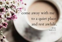 Rest / Find inner peace with rest, relaxation, and sleep.