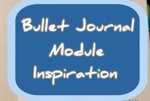 Bullet Journal Module Inspiration / A collection of my favorite modules, this can help anyone set up a new journal.