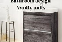 Bathroom Design | Vanity Units / See our selection of vanity units, which you can buy online via our website plus some ideas we've gathered to give you plenty of bathroom inspo