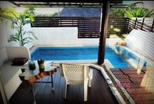 Pingplalee Pool 1 / Welcome to Pingplalee Resort Kanchanaburi, serving the best by owner. M: 0901387309 E:pingplalee@gmail.com