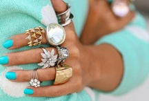 Stack It / Rings and bling / by stylescoop blog.com