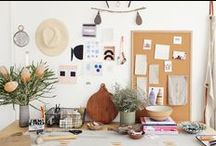 Work spaces / { beautiful spaces where people create }