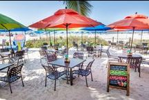 Cabanas Beach Bar / Join us at Cabanas Beach Bar on Fort Myers beach for dazzling sunsets and smooth drinks. Located at DiamondHead Beach Resort. / by SunStream Hotels & Resorts