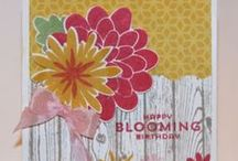 Cards & more - Flowers / Card ideas with flowers as the main focus using all Stampin' Up! products!