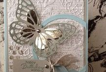 Cards & more - Butterflies / Pretty butterflies in many colors, sizes, and designs used on cards made with Stampin' Up! products!