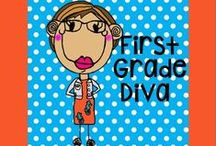 First Grade Diva Creations / Thank you for stopping by and browsing through my resources. Looking for something special? E-mail me! firstgradedivamt@gmail,com / by Amber Rausch