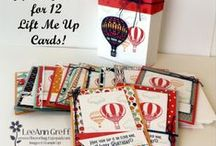Card sets & containers / A board filled with card set ideas or card set with container ideas using Stampin' Up! product.