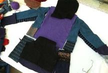 Patchwork and altered clothing / by Accidentally Angela