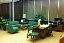 Meeting room ideas - Mad Men / Mad Men style meeting / conference room