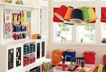 Interiors | Boys playroom
