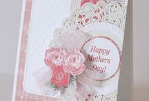 Cards & more - Mother's Day / Mothers Rock! Ideas for cards to celebrate Mom using Stampin' Up! products.