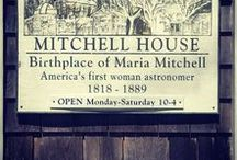 Maria Mitchell / Maria Mitchell (1818 –1889) was the first female professional astronomer in the United States.
