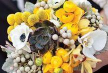 YELLOW WEDDINGS / Yellow wedding ideas, yellow wedding theme, yellow wedding inspiration