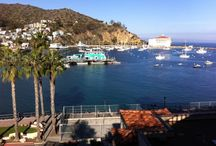 Catalina Island / 21 miles across the sea from San Pedro is a charming Mediterranean seaside city - Avalon. It's one mile wide and one mile long. Easy to explore in one or two days.