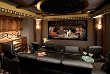 Home Theatre Audiophile Man Caves / Entertainment rooms appreciated