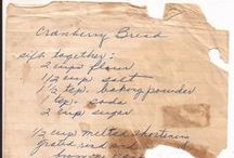 ❦ Vintage & Handwritten  Recipes / I love vintage recipes. They make me feel like I am home again, watching my mama cook in the kitchen. Please note: I have not tried these recipes and some may be missing some of the ingredients or directions on how to make them. You may want to read over the recipe before attempting to make it. Enjoy! / by Earth Angel