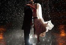 RAINY WEDDINGS / Rainy wedding images, autumn weddings, winter weddings