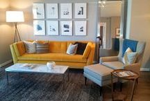 Home Tour: Hubbard Place / Gary, a Design Associate at Room & Board Chicago, styled this modern one-bedroom unit for Hubbard Place, a new apartment complex in the heart of the Windy City. Boy, we'd sure love to rest our head there! / by Room & Board