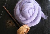Spinning / Как прясть и красить шерсть