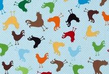 Chicken Kitchen Fabrics