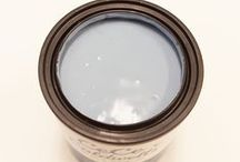 CHESAPEAKE BLUE / NON-TOXIC | NO VOC'S | NO SOLVENTS… NATURAL CHALK + CLAY PAINT FOR FURNITURE AND HOME DECOR #cececaldwellspaints #diy #chalkandclaypaint