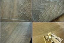BEECH NUT GRAY STAIN + FINISH / The wonderful uses of Beech Nut Gray Stain + Finish.