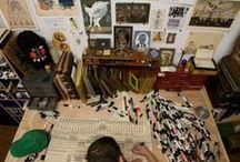 Creative corner\Творческий уголок / ИДЕИ!!! Творческая зона моей мечты